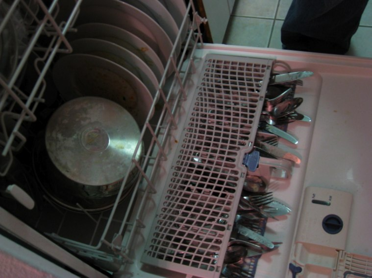 Photo Of The Day Whirlpool Dishwasher Utensil Tray