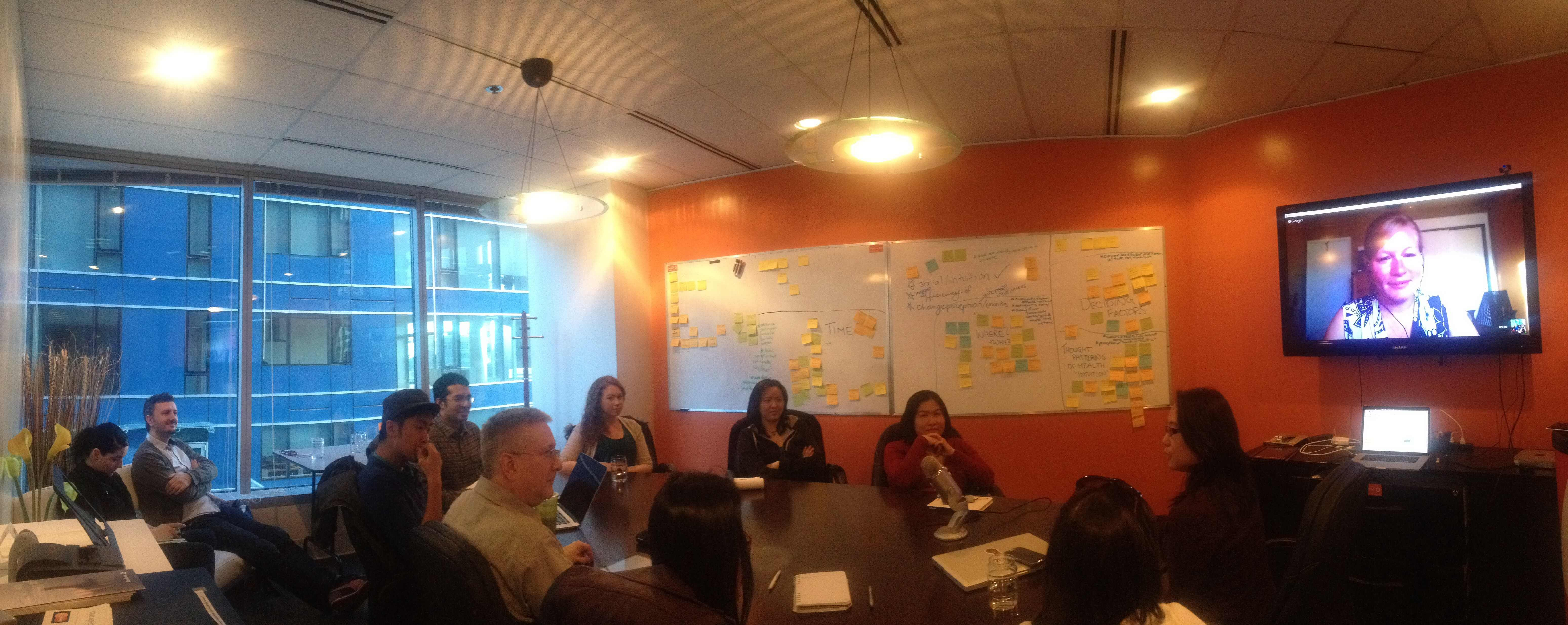 UX Design Therapy Vancouver huddle with Whitney Hess